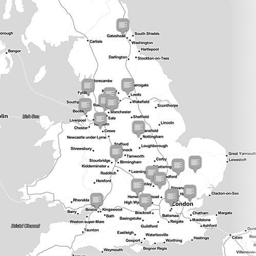 Digital health and social care map