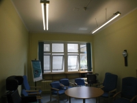 Meeting room before the transformation