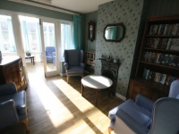 Smaller rooms provide calmer spaces for relaxation