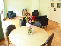 The new visiting and parenting room