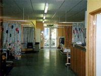 The children's ward before refurbishment
