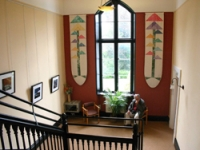 The main hall window