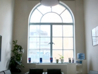 More natural light and a welcoming space