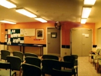 The waiting room prior to the project
