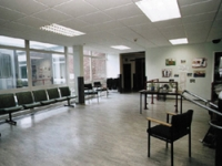 The waiting room before the project