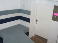 The seclusion room features ensuite facilities