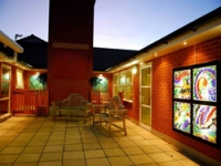 Light boxes and Yard Art