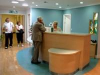 The new Phoenix Ward nurses' station