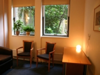 New bereavement office and waiting area