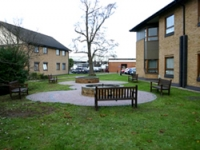 Service users helped to design the gardens