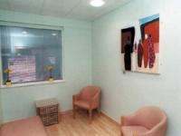 Several smaller rooms were refurbished