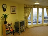 Soft furnishings create a homely feel