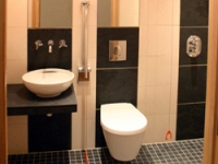 Bathroom for the suite