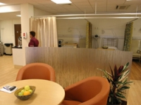 The new hospitality lounge