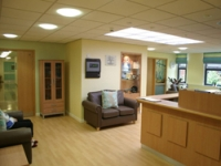 A lighter and brighter entrance area