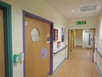Wards are colour coded to make it easier for patients to find their way